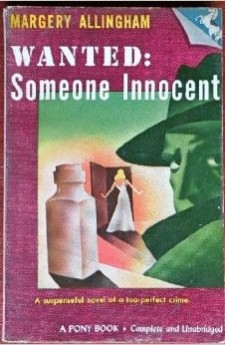 margery allingham - Wanted Someone Innocent