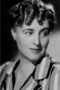 Margery Allingham, detective fiction author of Albert Campion, Queen of Crime - biography portait