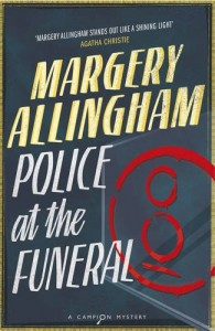 Margery Allingham News Story 6 police at the funeral